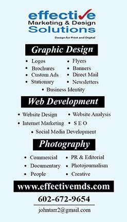 Phoenix Trifold Brochure Design